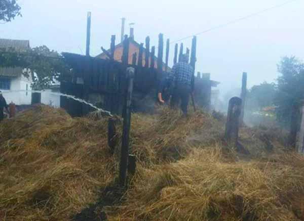 пожежа у Любарському районі