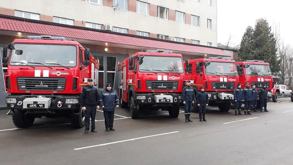 Нові пожежні автомобілі, 2019