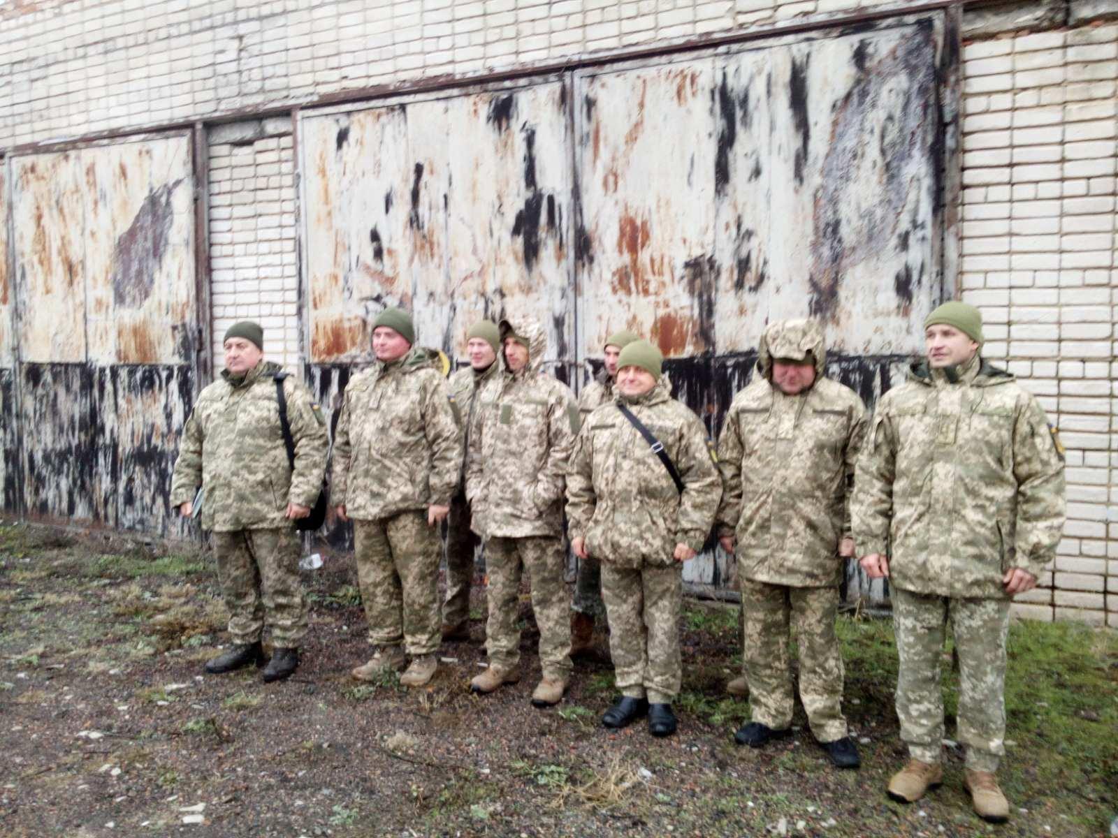 Військовозобов'язані Любарщини взяли участь у навчальних стрільбах, 2019