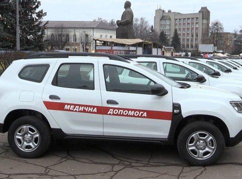 Новочорторийська амбулаторія отримала новий автомобіль, 2020
