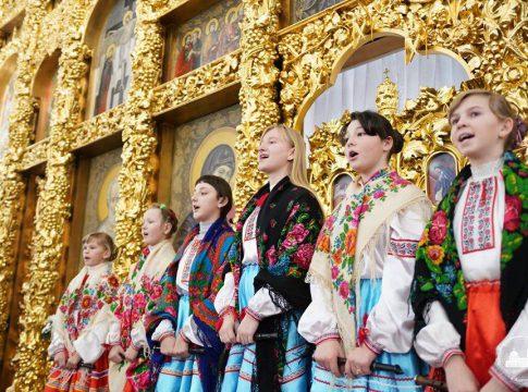 Ансамбль сопілкарів з Любарщини взяв участь в обласному фестивалі колядок