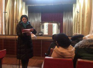 Зустріч керівництва райдержадміністрації з жителями села Стара Чортория