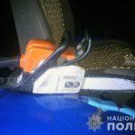 На Любарщині поліцейські затримали підпільних лісорубів