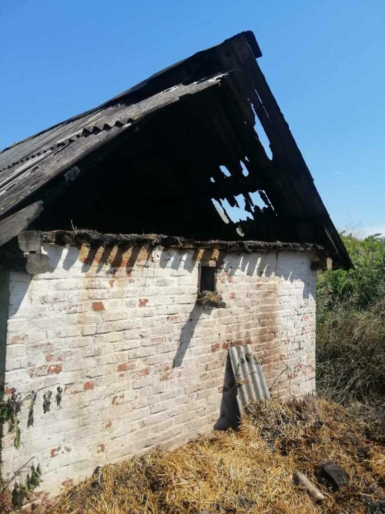 За три дні рятувальники на Любарщині ліквідували чотири пожежі