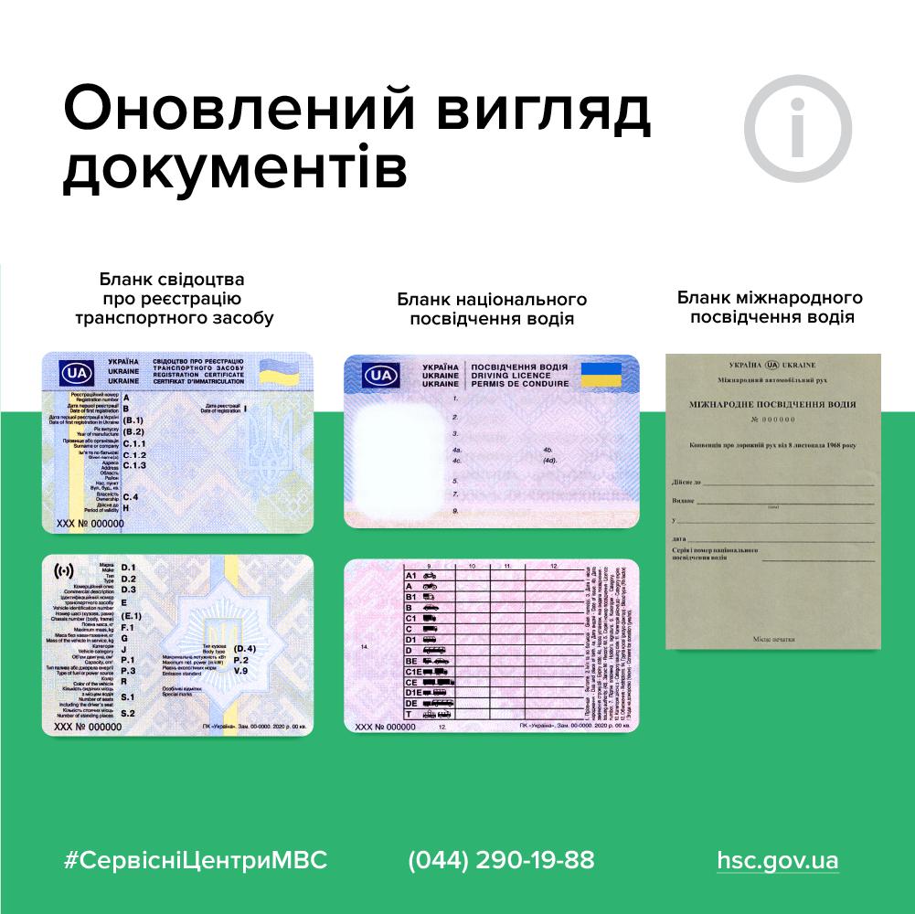 Група крові, згода на донорство, інформація трьома мовами: уряд затвердив нові бланки посвідчення водія