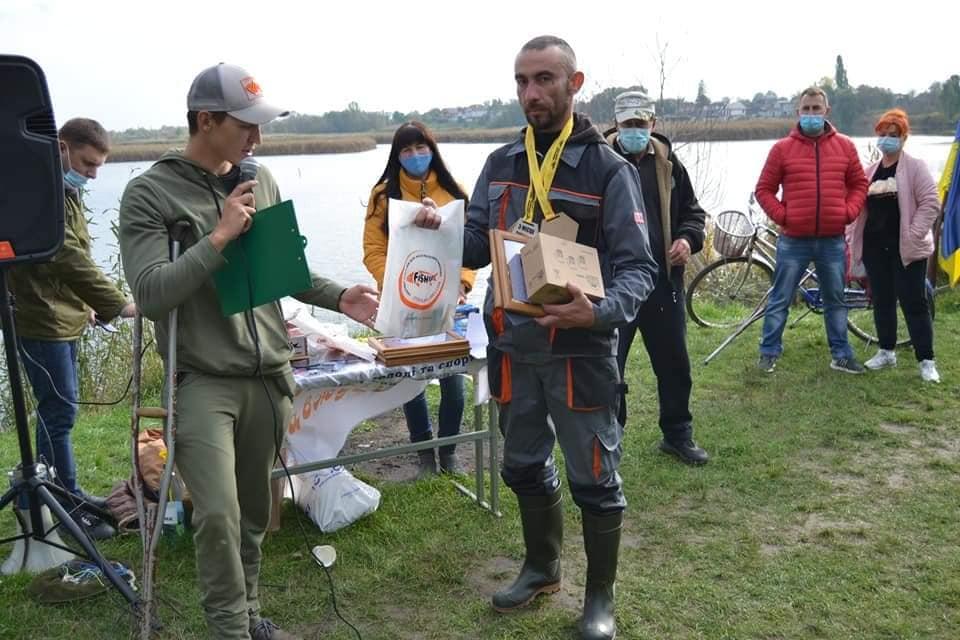 На Любарщині відбулися змагання з лову хижої риби