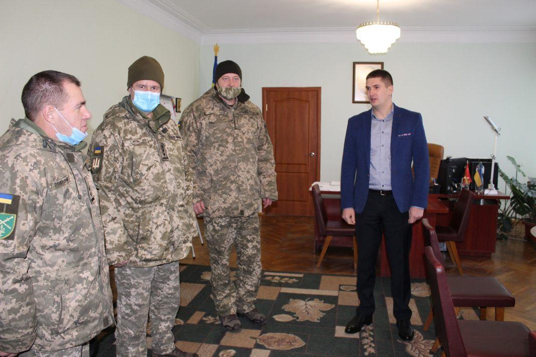 На Любарщині представили нового військового комісара