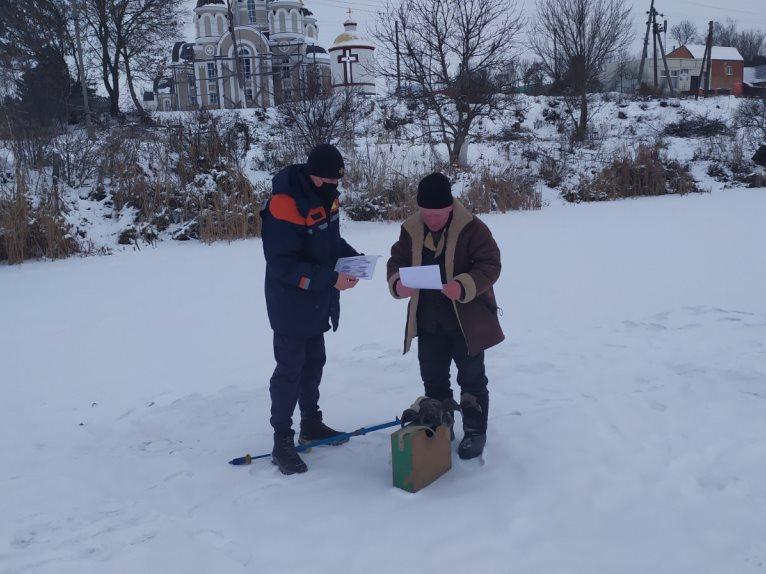 Безпечна крига та правила зимової риболовлі: роз'яснення любарських рятувальників