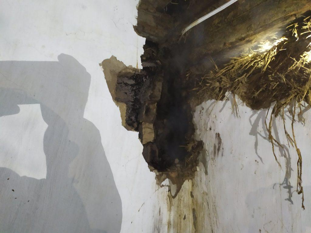 На Любарщині через пічне опалення ледь не згорів житловий будинок