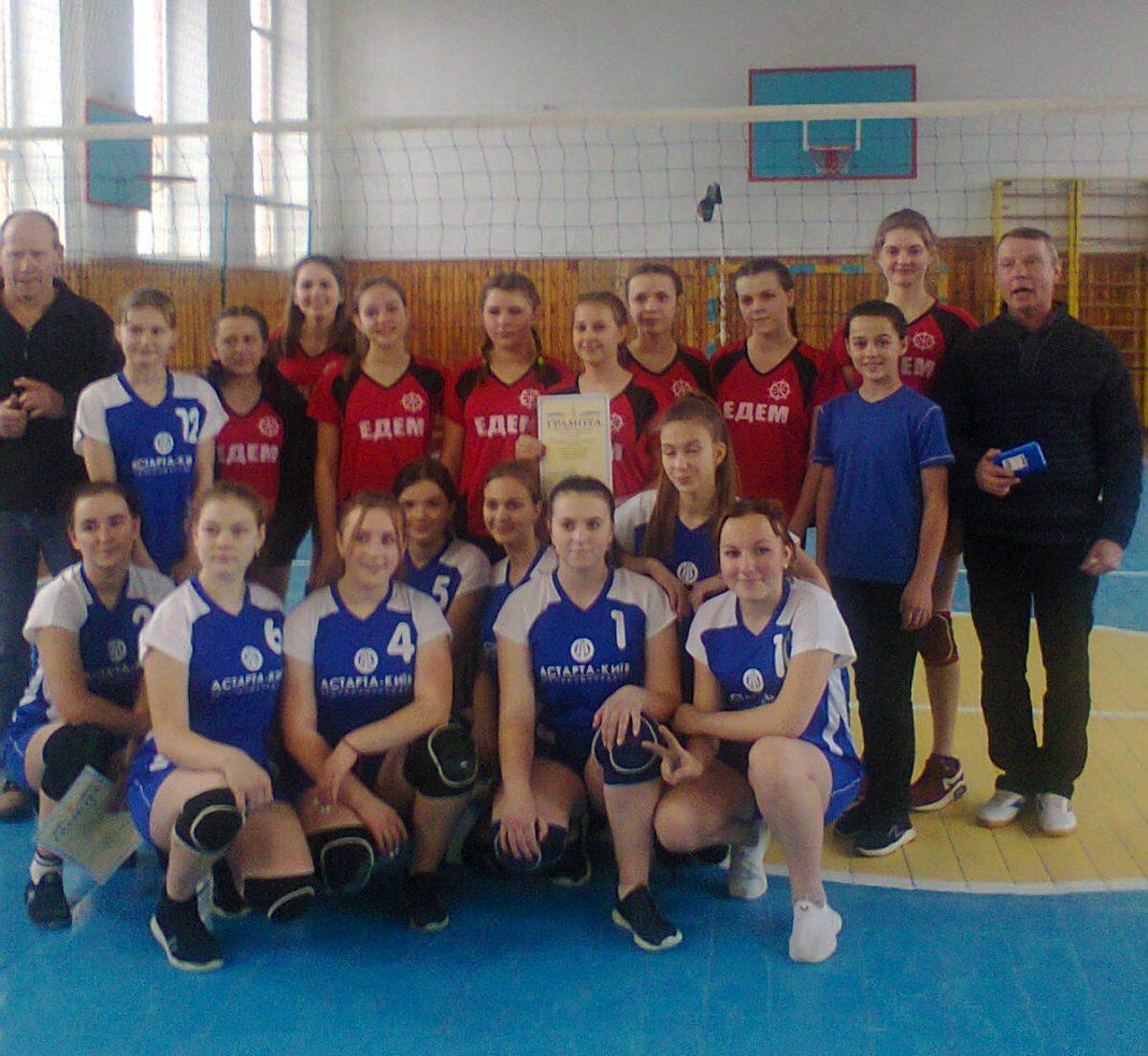 У Любарському районі відбулися змагання з волейболу серед дівчат