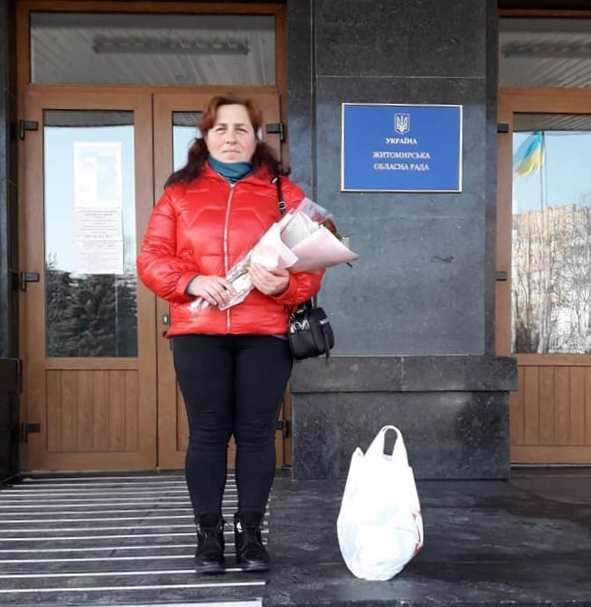 На Любарщині присвоїли звання «Матері-героїні» жительці села В. Волиця