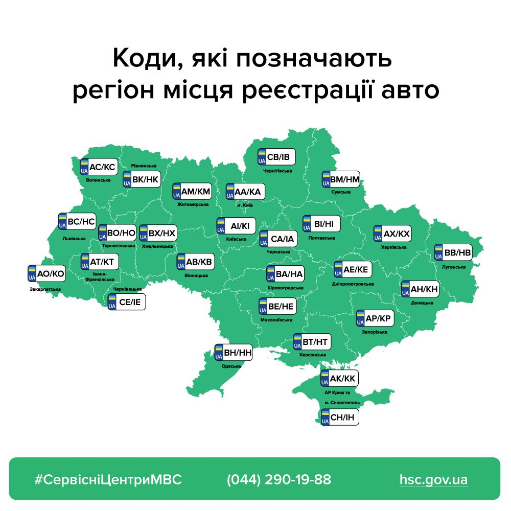 За номерним знаком «АМ» – тільки на Житомирщину: в Україні змінюються правила видачі номерів