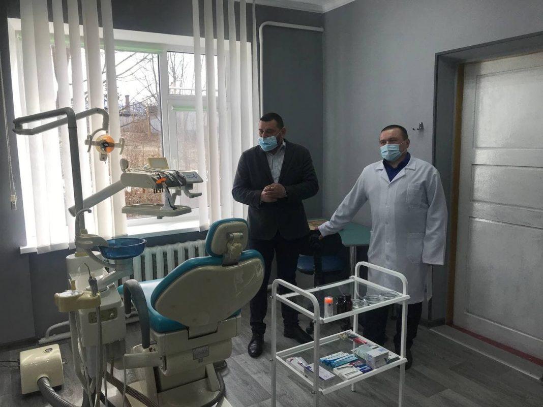 Ігор Ходак долучився до фінансування модернізації стоматологічного кабінету у Тетерівській громаді
