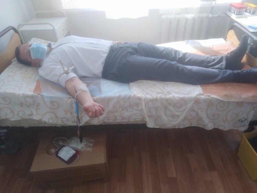 У Любарській ОТГ 40 жителів стали донорами крові