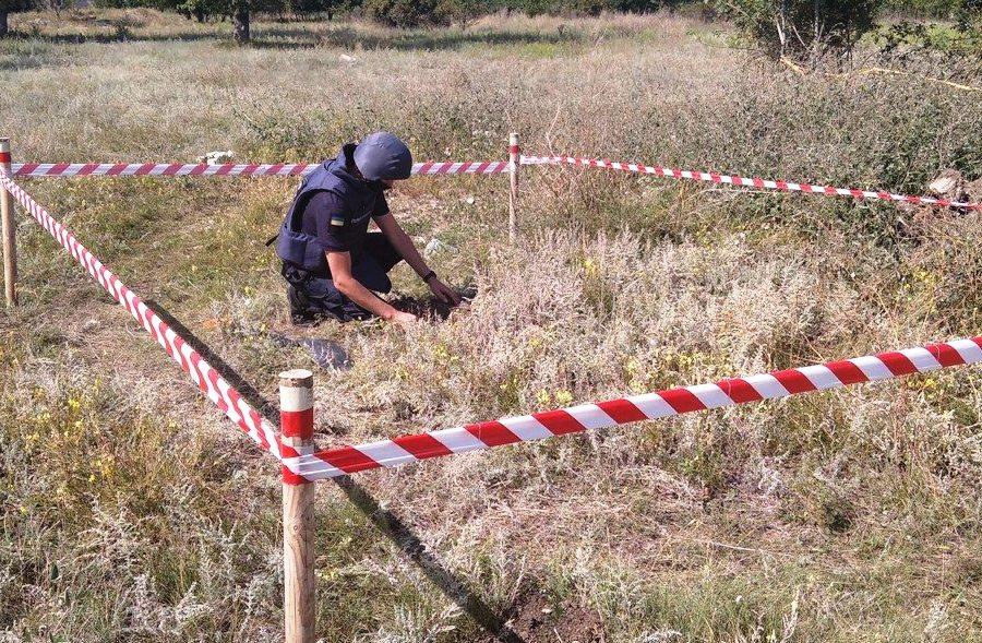 У Любарському районі виявили два «раритетні» артснаряди