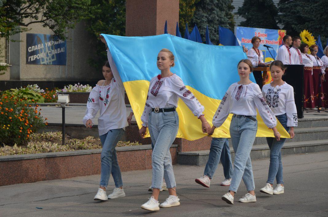 У Любарській громаді відсвяткували річницю Незалежності України: фоторепортаж