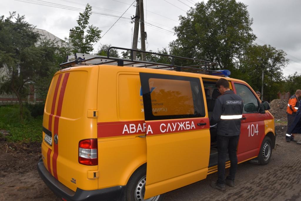 Газопостачання на Любарщині, припинене внаслідок пошкодження труби, відновлено